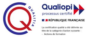 Paprika Marketing certifié Qualiopi pour les actions de formation par Qualitia